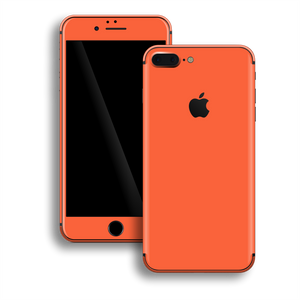 iPhone 8 Plus Gloss Glossy CORAL Skin, Decal, Wrap, Protector, Cover by EasySkinz | EasySkinz.com