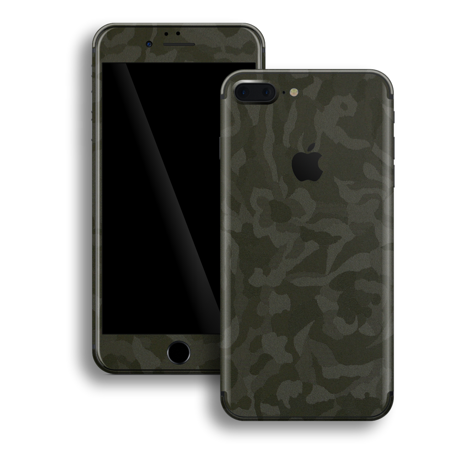 iPhone 8 PLUS Luxuria Green 3D Textured Camo Camouflage Skin Wrap Decal Protector | EasySkinz