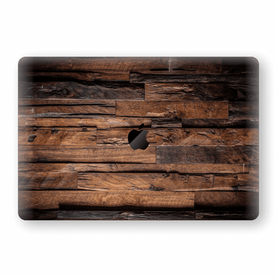"MacBook Pro 15"" Touch Bar Signature Wood Skin Wrap Decal Protector 