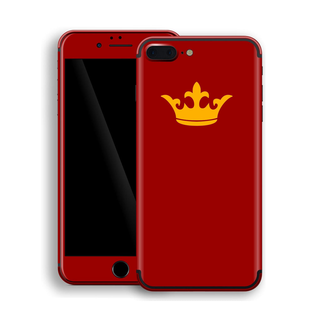 iPhone 7 Plus Crown Custom Design Skin, Wrap, Decal, Protector, Cover by EasySkinz | EasySkinz.com