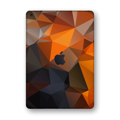 "iPad 10.2"" (8th Gen, 2020) SIGNATURE Faceted TRIANGLES Skin Wrap Sticker Decal Cover Protector by EasySkinz"