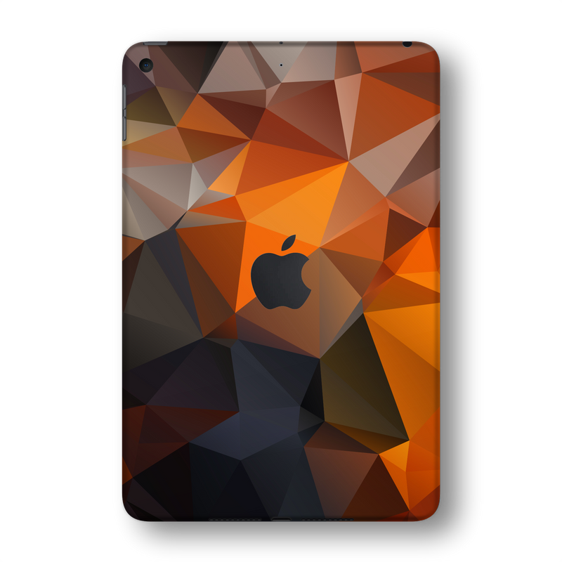 iPad MINI 5 (5th Generation 2019) SIGNATURE Faceted TRIANGLES Skin Wrap Sticker Decal Cover Protector by EasySkinz