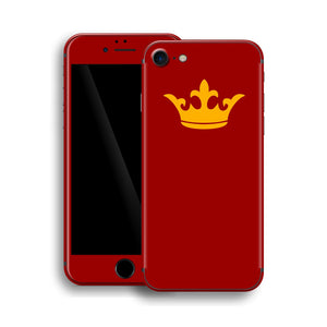 iPhone 8 Crown Custom Design Skin, Wrap, Decal, Protector, Cover by EasySkinz | EasySkinz.com