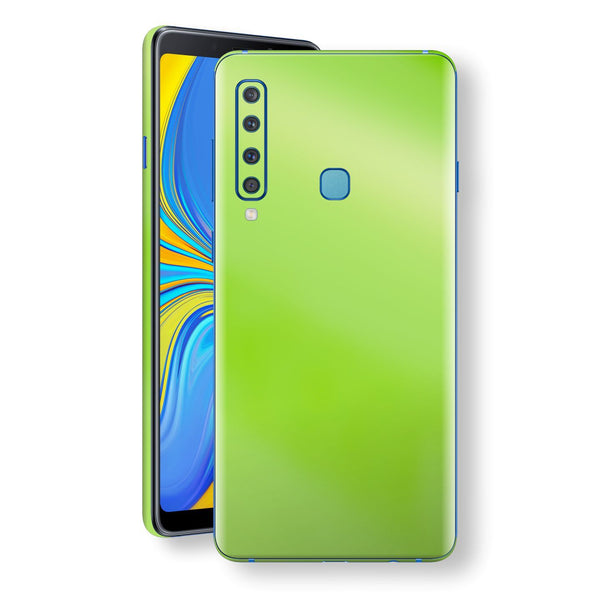 Samsung Galaxy A9 (2018) Apple Green Pearl Gloss Finish Skin Wrap Decal Cover by EasySkinz