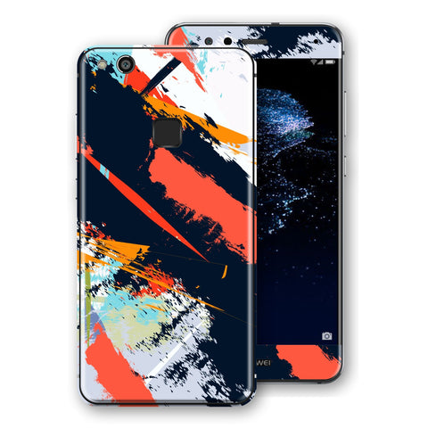 Huawei P10 LITE Signature Abstract Paitning Skin Wrap Decal Protector | EasySkinz