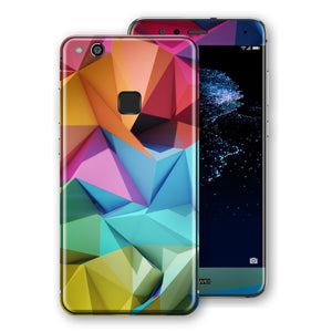 Huawei P10 LITE Signature Abstract Geometry Skin Wrap Decal Protector | EasySkinz