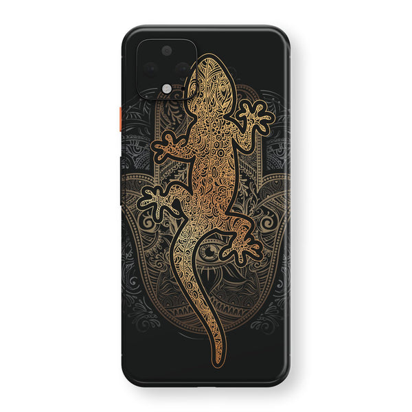 Google Pixel 4 XL Print Custom SIGNATURE Abstact GECKO Skin, Wrap, Decal, Protector, Cover by EasySkinz | EasySkinz.com