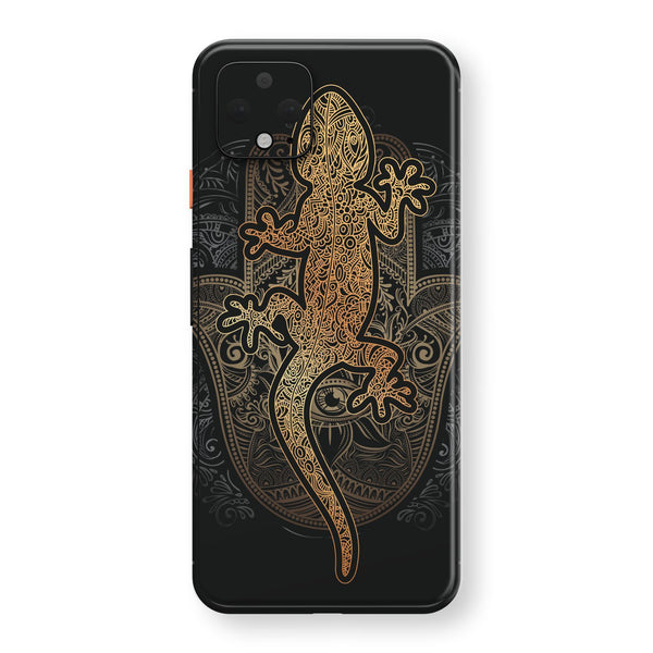 Google Pixel 4 Print Custom SIGNATURE Abstract GECKO Skin, Wrap, Decal, Protector, Cover by EasySkinz | EasySkinz.com
