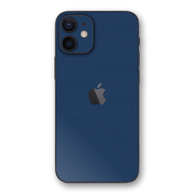 iPhone 12 Luxuria Admiral Blue 3D Textured Skin Wrap Sticker Decal Cover Protector by EasySkinz