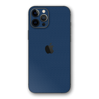 iPhone 12 Pro MAX Luxuria Admiral Blue 3D Textured Skin Wrap Sticker Decal Cover Protector by EasySkinz