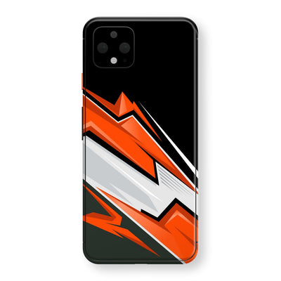 Google Pixel 4 XL Print Custom SIGNATURE Adventure ORANGE Racing Skin, Wrap, Decal, Protector, Cover by EasySkinz | EasySkinz.com