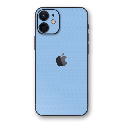 iPhone 12 Luxuria August Pastel Blue 3D Textured Skin Wrap Sticker Decal Cover Protector by EasySkinz