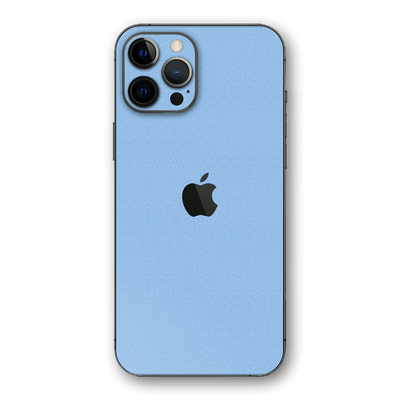 iPhone 12 PRO Luxuria August Pastel Blue 3D Textured Skin Wrap Sticker Decal Cover Protector by EasySkinz