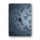 "iPad 10.2"" (7th Gen, 2019) SIGNATURE Blue HEXAGON Skin Wrap Sticker Decal Cover Protector by EasySkinz"