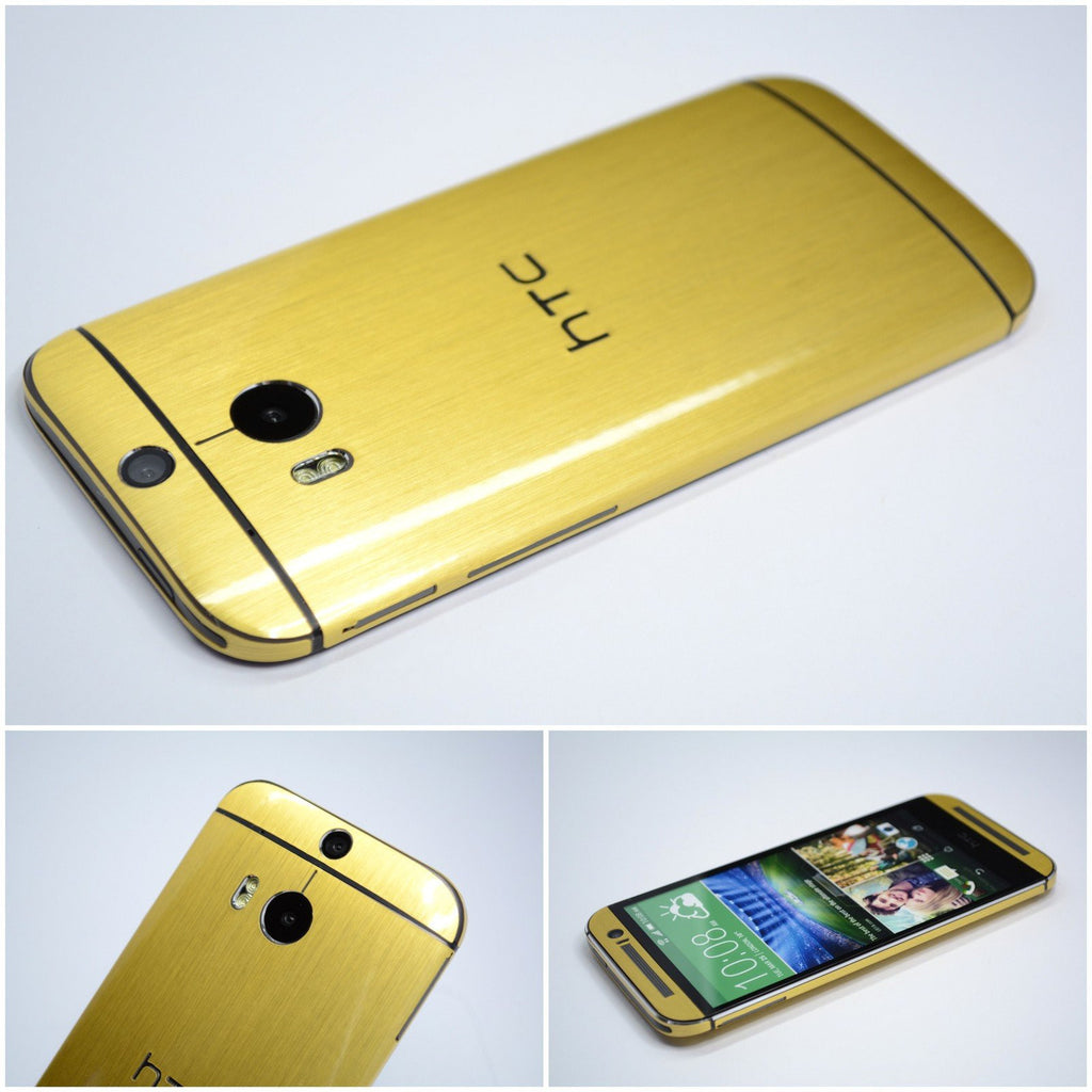 HTC One M8 GOLD Skin