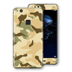 Huawei P10 LITE Print Custom Signature Camouflage Desert Skin Wrap Decal by EasySkinz