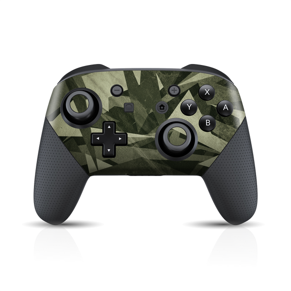 Nintendo Switch Pro Controller Print Printed Custom SIGNATURE CAMO Fabric Skin Wrap Sticker Decal Cover Protector by EasySkinz