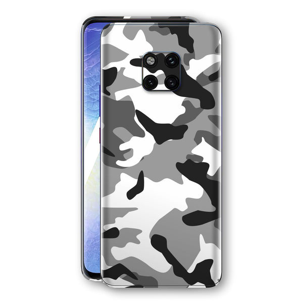 Huawei MATE 20 PRO Print Custom Signature Grey Camouflage Camo Skin Wrap Decal by EasySkinz