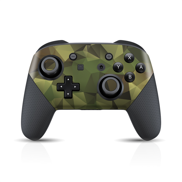 Nintendo Switch Pro Controller Print Printed Custom SIGNATURE Camouflage Skin Wrap Sticker Decal Cover Protector by EasySkinz