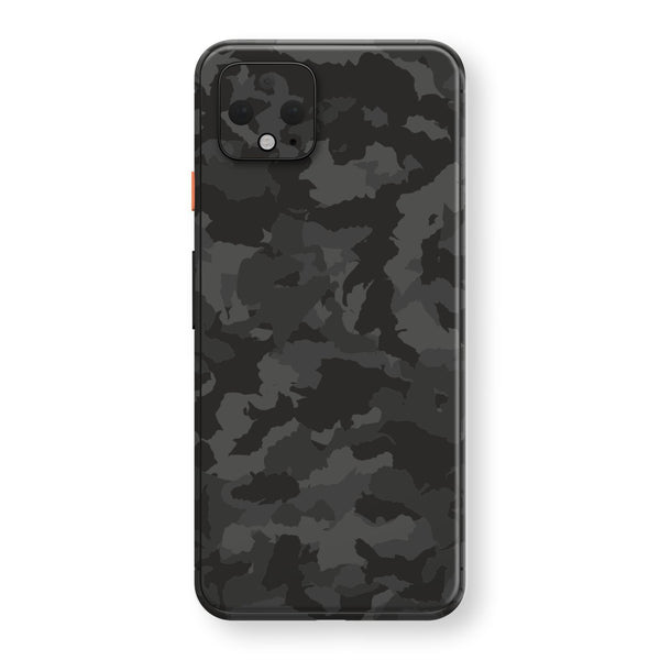 Google Pixel 4 Print Custom SIGNATURE Camouflage DARK SLATE Skin, Wrap, Decal, Protector, Cover by EasySkinz | EasySkinz.com