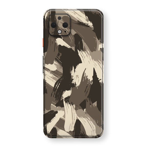 Google Pixel 4 XL Print Custom SIGNATURE Camouflage DESERT Skin, Wrap, Decal, Protector, Cover by EasySkinz | EasySkinz.com