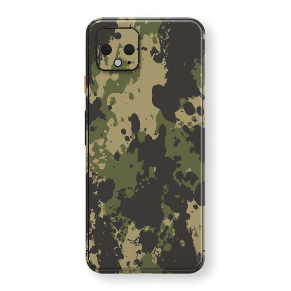 Google Pixel 4 Print Custom SIGNATURE Camouflage SPLATTER Skin, Wrap, Decal, Protector, Cover by EasySkinz | EasySkinz.com