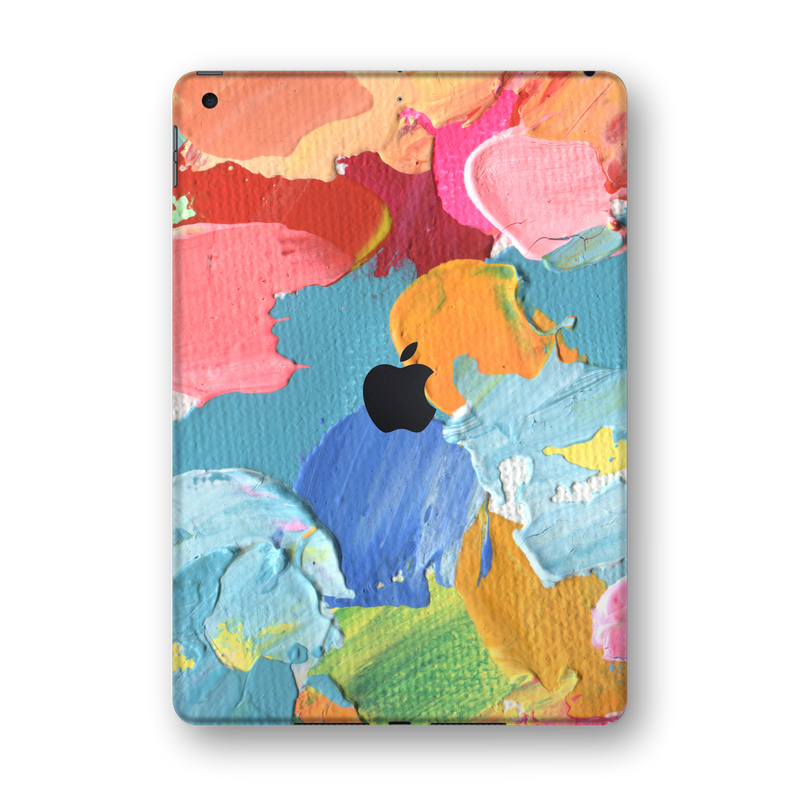 "iPad 10.2"" (7th Gen, 2019) SIGNATURE Canvas Mixture of Colours Skin Wrap Sticker Decal Cover Protector by EasySkinz"