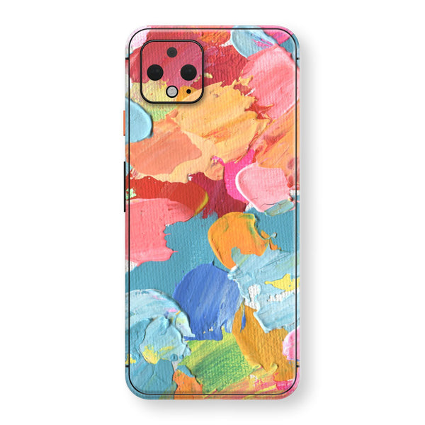 Google Pixel 4 XL Print Custom SIGNATURE Canvas Mixture of Colours Skin, Wrap, Decal, Protector, Cover by EasySkinz | EasySkinz.com