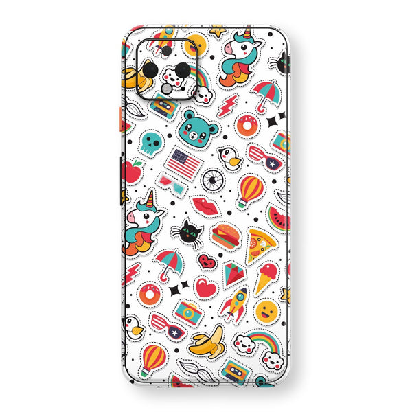 Google Pixel 4 Print Custom SIGNATURE Chic STICKERS Skin, Wrap, Decal, Protector, Cover by EasySkinz | EasySkinz.com