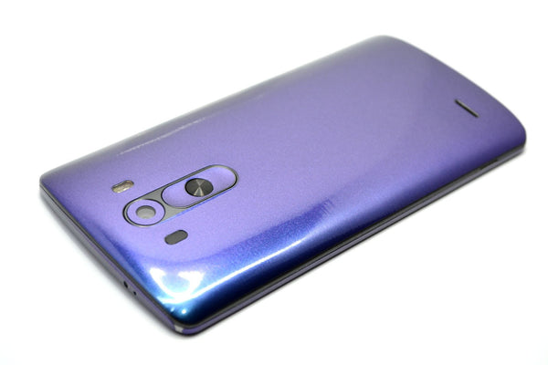 LG G3 Chameleon Purple-Blue Skin Sticker Wrap Cover Decal