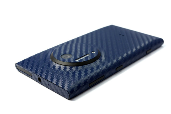 Nokia Lumia 1020 Navy Blue Carbon Sticker