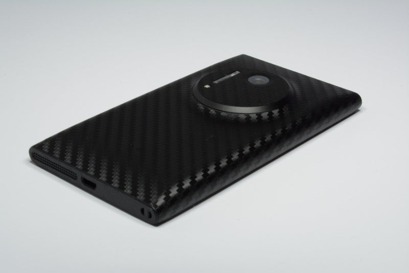 Nokia Lumia 1020 Black Carbon Skin