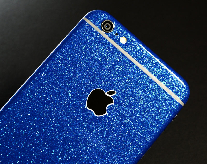 iPhone 6S Diamond BLUE Shimmering Glitter Skin Wrap Sticker Cover Decal Protector by EasySkinziPhone 6S PLUS Diamond BLUE Shimmering Glitter Skin Wrap Sticker Cover Decal Protector by EasySkinz