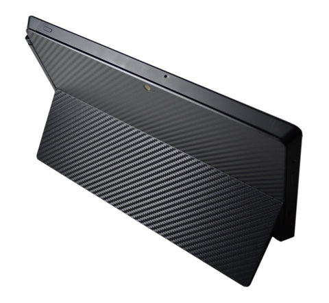 3D Textured CARBON Fibre BACK Sticker Skin Cover for Microsoft Surface Pro 2