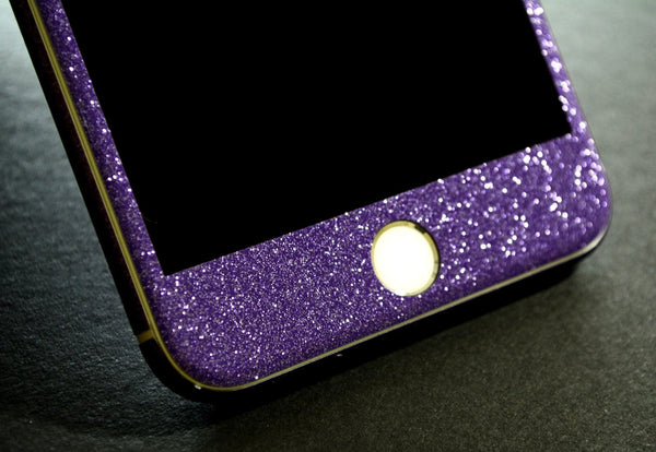 iPhone 6 PLUS Diamond PURPLE Shimmering Glitter Skin Wrap Sticker Cover Decal Protector by EasySkinz