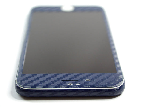 iPhone 6S PLUS Navy Blue CARBON Fibre Skin Wrap Sticker Cover Protector Decal by EasySkinz