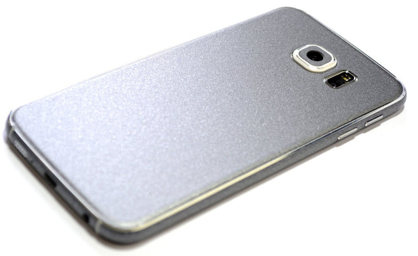 Samsung Galaxy S6 Space Grey Matt Matte Skin Wrap Sticker Cover Decal Protector by EasySkinz