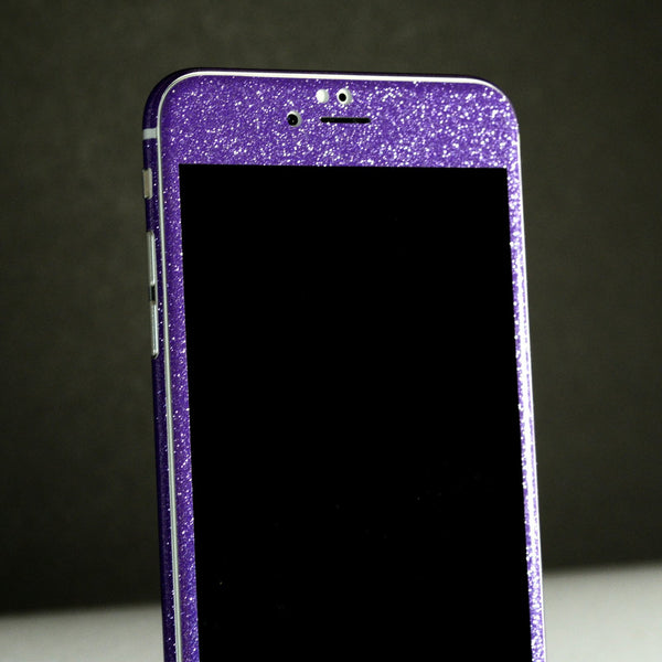 iPhone 6 Diamond PURPLE Shimmering Glitter Skin Wrap Sticker Cover Decal Protector by EasySkinz