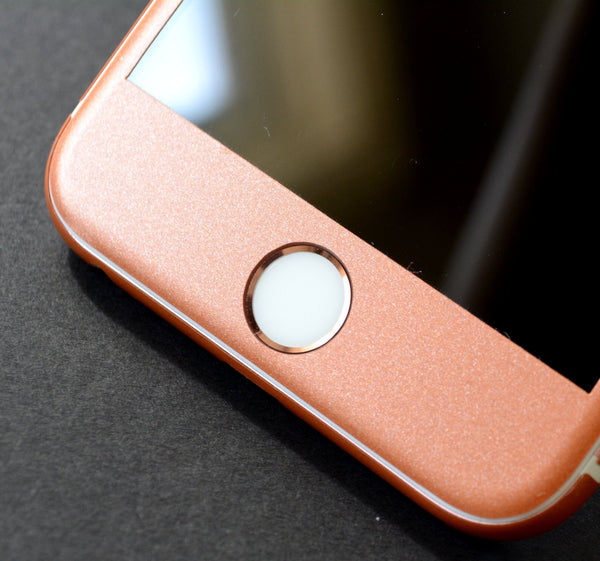 iPhone 6 Rose Gold Matt Matte Metallic Skin Wrap Sticker Cover Protector Decal by EasySkinz