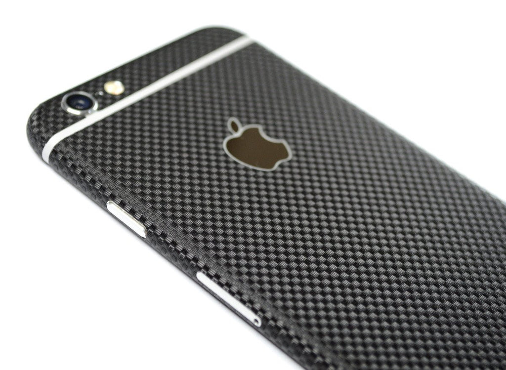 brand new 864f7 8abf3 iPhone 6S PLUS MICRO Black CARBON Fibre Skin / Wrap / Decal – EasySkinz