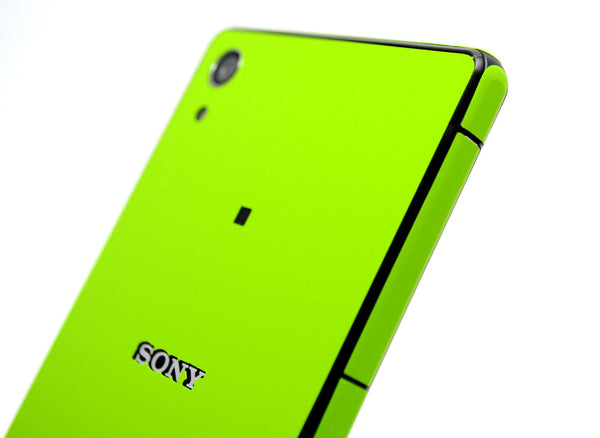 Sony Xperia Z2 green matt sticker