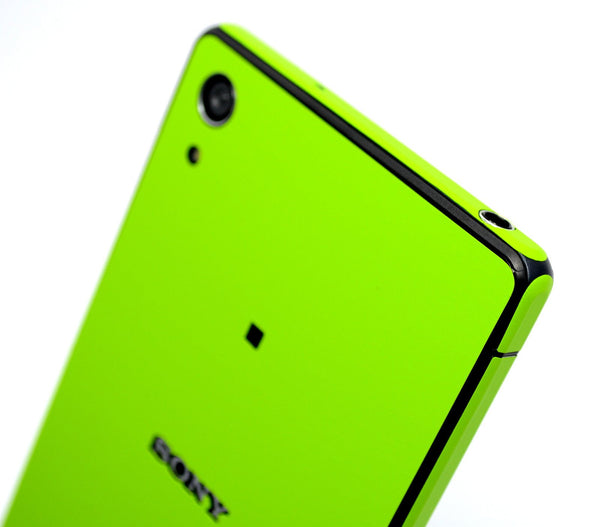 Sony Xperia Z2 green