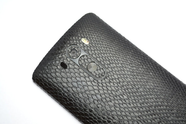 LG G3 Black Mamba Snake Skin Sticker Wrap Cover Decal