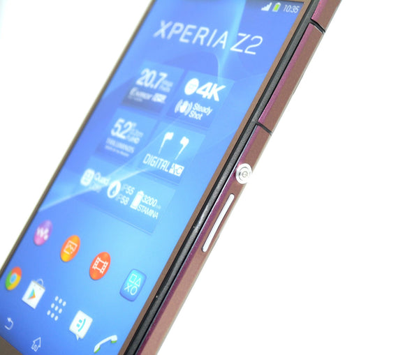 Sony Xperia Z2 purple red gold wrap