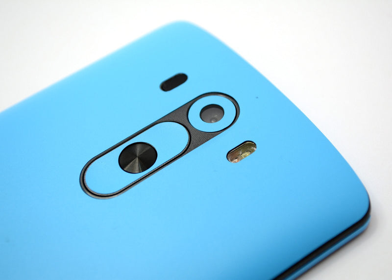 LG G3 MATT Matte Blue Skin Sticker Wrap Cover Decal Protector
