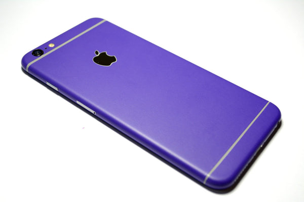iPhone 6S PLUS Colorful 3M Royal Purple MATT Skin Wrap Sticker Cover Protector Decal by EasySkinz