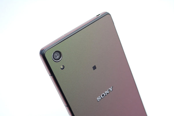 Sony Xperia Z2 purple green wrap