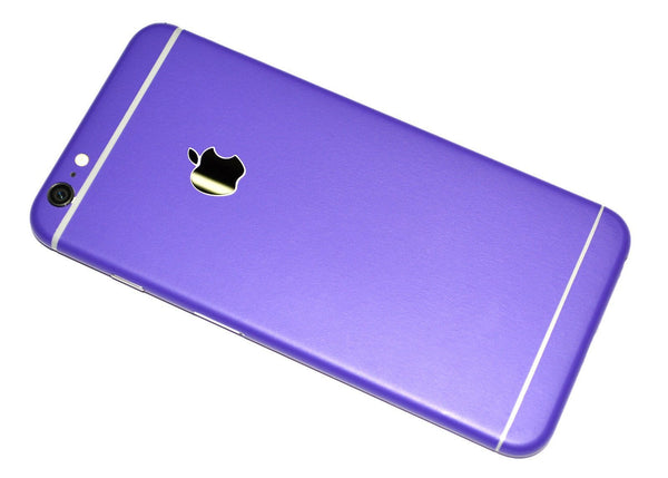 iPhone 6 Colorful 3M Royal Purple MATT Skin Wrap Sticker Cover Protector Decal by EasySkinz