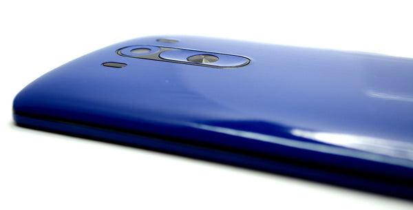 LG G3 Glossy Royal Blue Skin Sticker Wrap Cover Decal Protector
