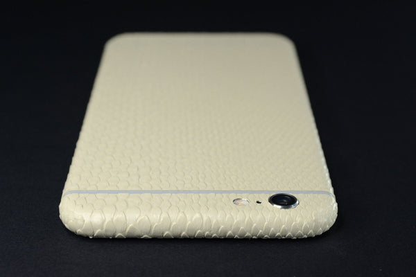 iPhone 6S BEIGE MAMBA SNAKE Skin Wrap Sticker Cover Decal Protector by EasySkinz